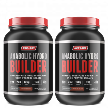 PROMOTION : BUILDER 3 LBS x 2