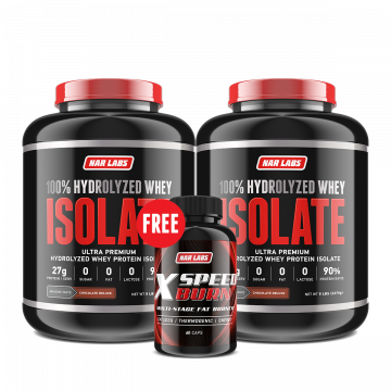 Set: ISOLATE 5lbs x2 |Free X Speed Burn